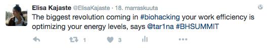 Biohacking energy levels