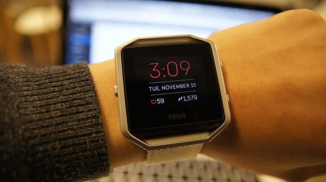 Fitbit auttaa biohakkeroijaa