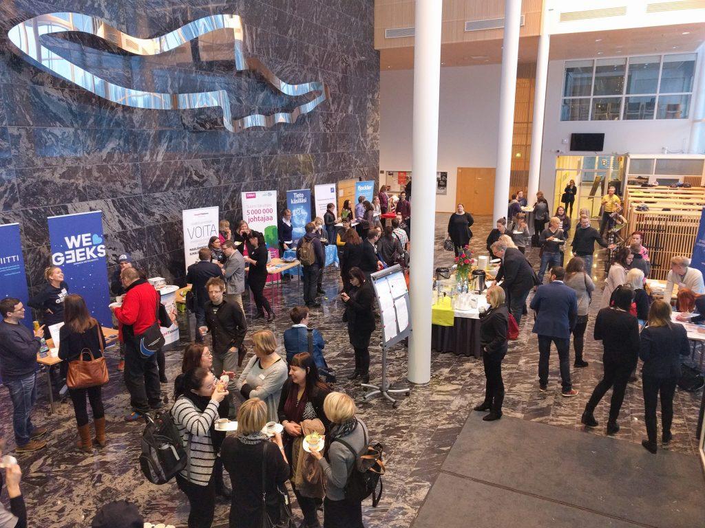Yhteisömanagerit kokoontuivat Jyväskylään tammikuussa 2016