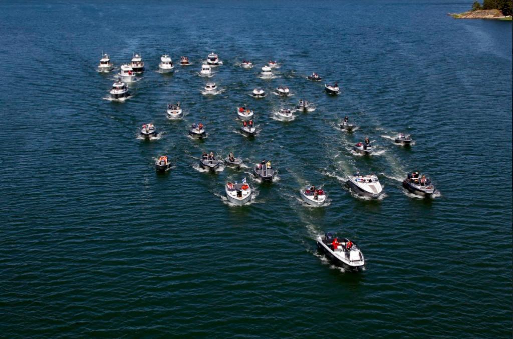 Medita oli mukana Finnboat Floating Showssa viestimassa suomalaisen venealan asioita kansainvaliselle medialle kesakuussa 2016
