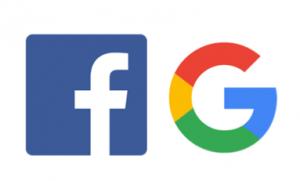 Google ja Facebook Meditan kumppaneina