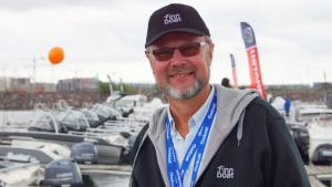 Finnboat ryn toimitusjohtaja Jouko Huju on tyytyvainen viestintayhteistyohon Meditan kanssa.
