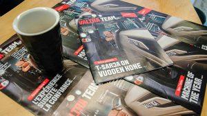Kansainvälinen asiakaslehti (customer magazine) ValtraTeam