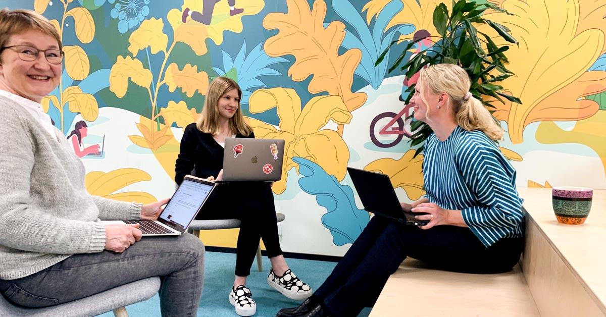 Meditan Jyväskylän toimisto muutti Crazy Townille